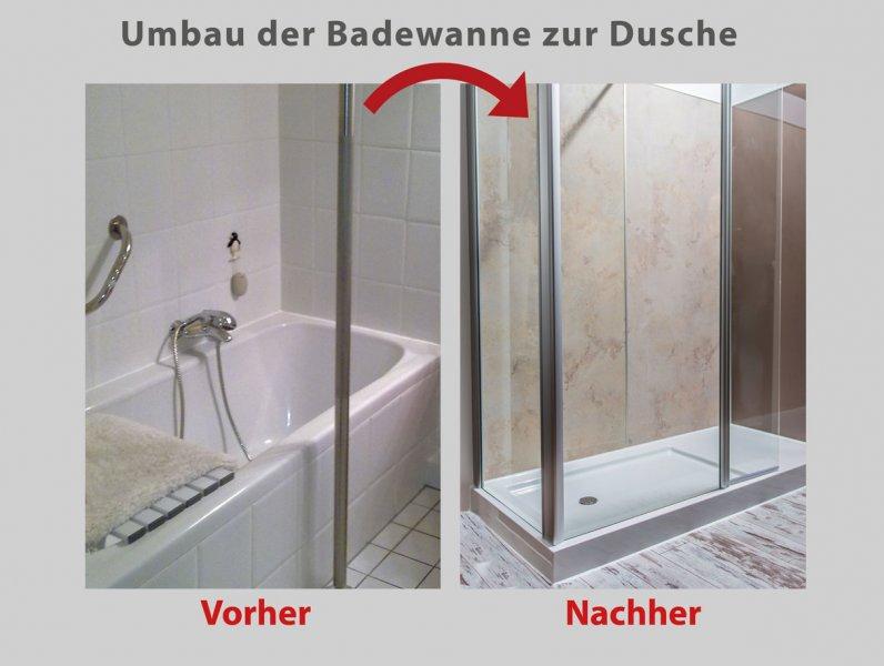 Umbau Badewanne Dusche Wien : des umbaus am n?chsten morgen duschen in ihrer dusch oase bis zu 4