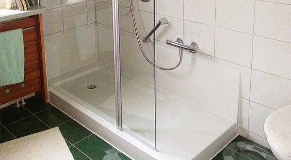 Dusche Statt Badewanne : Badewannent?r FLORENZ